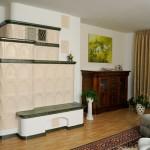 Kachelofen für 5 Räume (zwei Etagen)