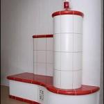 Warmwasserbeheizte Cotterra-Anlage
